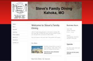 steves-family-dining-website-snapshop
